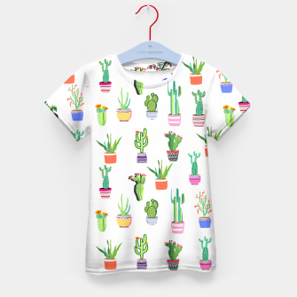 Thumbnail image of Cacti Land 2 Kid's t-shirt, Live Heroes