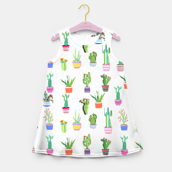 Thumbnail image of Cacti Land 2 Girl's summer dress, Live Heroes