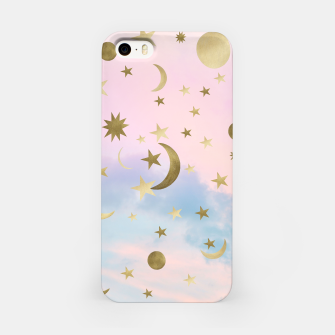 Thumbnail image of Pastel Starry Sky Moon Dream #1 #decor #art iPhone-Hülle, Live Heroes
