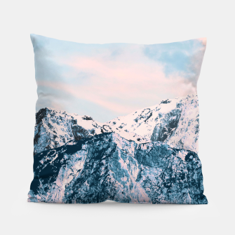 Thumbnail image of Pastel Mountain Dream #1 #dreamy #art Kissen, Live Heroes