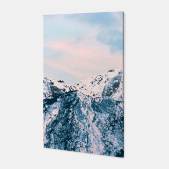 Miniatur Pastel Mountain Dream #1 #dreamy #art Canvas, Live Heroes