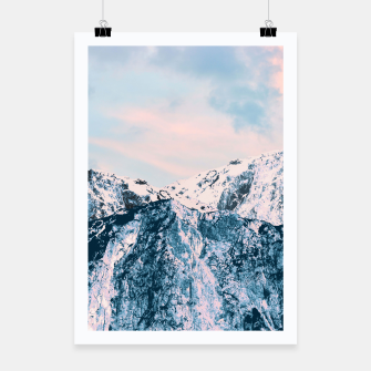 Thumbnail image of Pastel Mountain Dream #1 #dreamy #art Plakat, Live Heroes