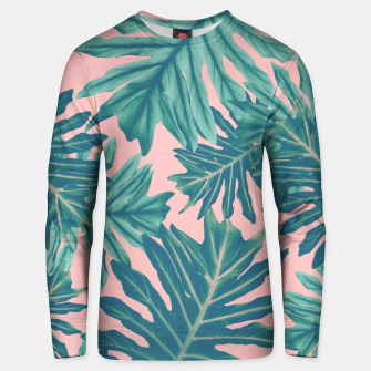 Miniatur Philo Hope - Tropical Jungle Leaves Pattern #7 #tropical #decor #art  Unisex sweatshirt, Live Heroes