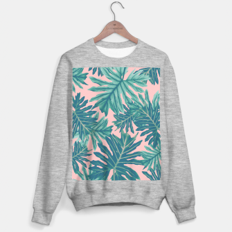 Miniaturka Philo Hope - Tropical Jungle Leaves Pattern #7 #tropical #decor #art  Sweatshirt regulär, Live Heroes
