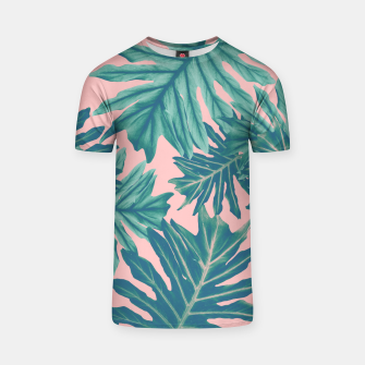 Miniatur Philo Hope - Tropical Jungle Leaves Pattern #7 #tropical #decor #art  T-Shirt, Live Heroes