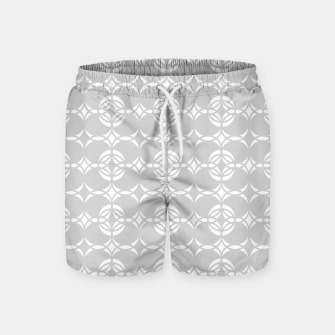 Miniaturka Abstract pattern - gray and white. Swim Shorts, Live Heroes