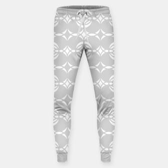 Miniaturka Abstract pattern - gray and white. Sweatpants, Live Heroes