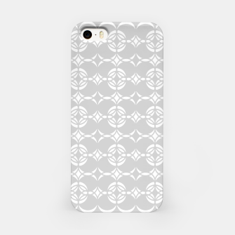 Miniaturka Abstract pattern - gray and white. iPhone Case, Live Heroes