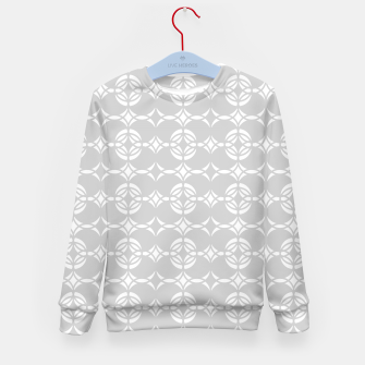 Miniaturka Abstract pattern - gray and white. Kid's sweater, Live Heroes