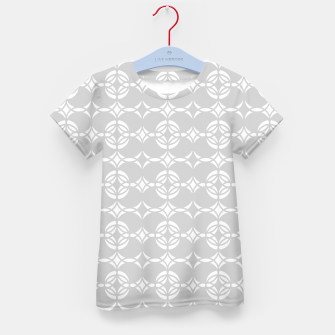 Miniaturka Abstract pattern - gray and white. Kid's t-shirt, Live Heroes
