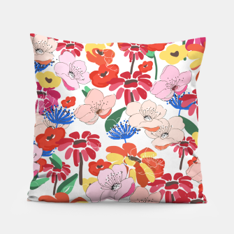 Thumbnail image of Pretty Blooms Pillow, Live Heroes