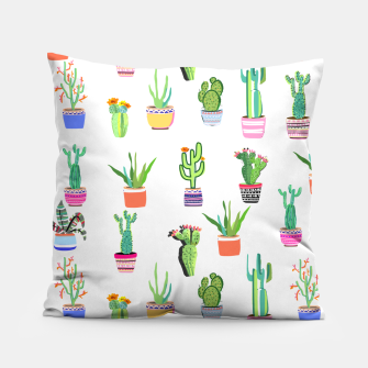 Thumbnail image of Cacti Land 2 Pillow, Live Heroes