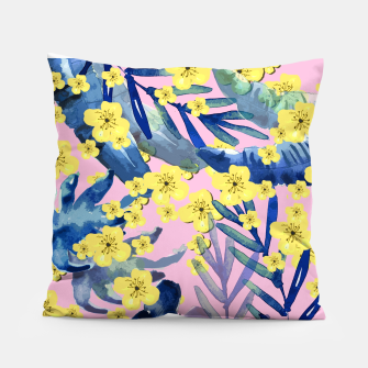 Thumbnail image of Tropical Florals Pillow, Live Heroes