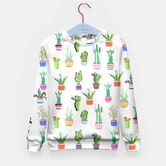 Thumbnail image of Cacti Land 2 Kid's sweater, Live Heroes