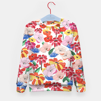 Thumbnail image of Pretty Blooms Kid's sweater, Live Heroes