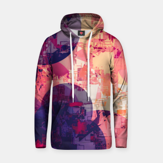Miniature de image de geometry circle pattern abstract in red and purple Hoodie, Live Heroes