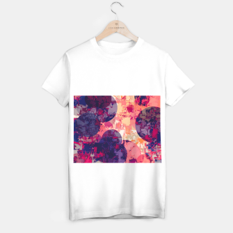 Miniature de image de geometry circle pattern abstract in red and purple T-shirt regular, Live Heroes