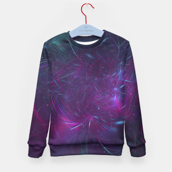 Miniatur Abstract Space Kid's sweater, Live Heroes