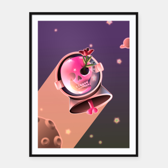 Miniaturka Lost in space Framed poster, Live Heroes
