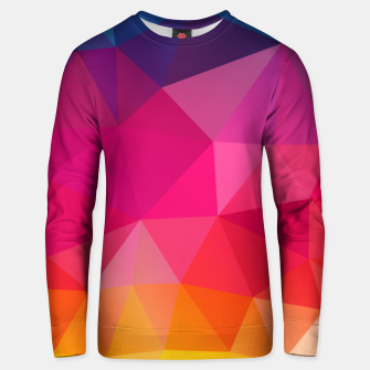 Thumbnail image of Triangles Unisex sweater, Live Heroes