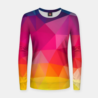 Miniatur Triangles Women sweater, Live Heroes