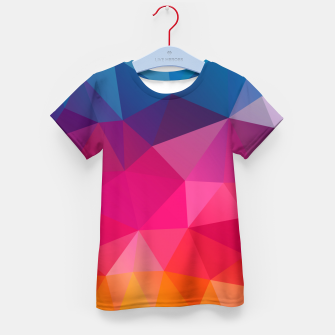 Thumbnail image of Triangles Kid's t-shirt, Live Heroes