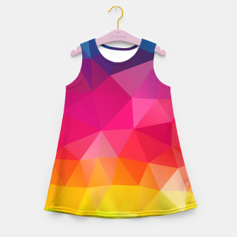 Thumbnail image of Triangles Girl's summer dress, Live Heroes