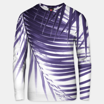 Thumbnail image of Palm Leaves Ultra Violet Vibes #2 #tropical #decor #art Unisex sweatshirt, Live Heroes