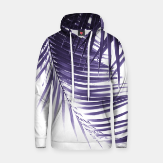Thumbnail image of Palm Leaves Ultra Violet Vibes #2 #tropical #decor #art Kapuzenpullover, Live Heroes