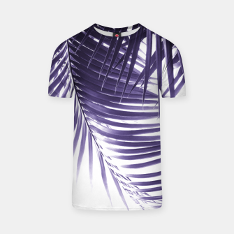Miniaturka Palm Leaves Ultra Violet Vibes #2 #tropical #decor #art T-Shirt, Live Heroes