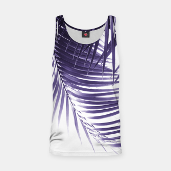 Thumbnail image of Palm Leaves Ultra Violet Vibes #2 #tropical #decor #art Muskelshirt , Live Heroes