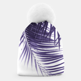 Thumbnail image of Palm Leaves Ultra Violet Vibes #2 #tropical #decor #art Mütze, Live Heroes