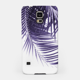 Thumbnail image of Palm Leaves Ultra Violet Vibes #2 #tropical #decor #art Handyhülle für Samsung, Live Heroes