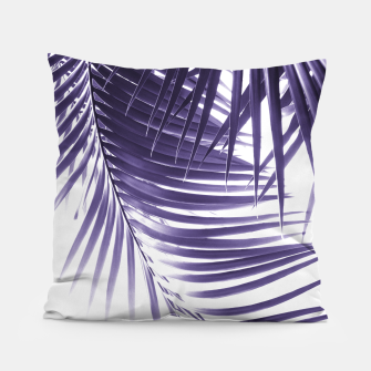 Thumbnail image of Palm Leaves Ultra Violet Vibes #2 #tropical #decor #art Kissen, Live Heroes