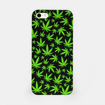 Miniatur Weed Pattern iPhone Case, Live Heroes