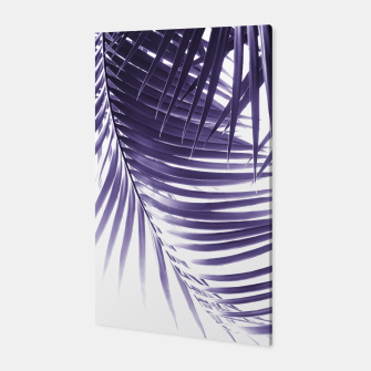 Thumbnail image of Palm Leaves Ultra Violet Vibes #2 #tropical #decor #art Canvas, Live Heroes