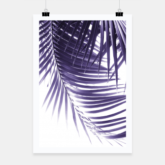 Thumbnail image of Palm Leaves Ultra Violet Vibes #2 #tropical #decor #art Plakat, Live Heroes