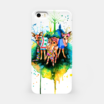 Miniatur winter time iPhone Case, Live Heroes