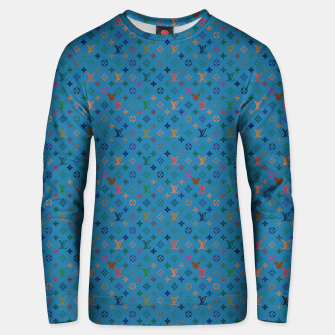 Thumbnail image of Pop Pattern Unisex sweater, Live Heroes