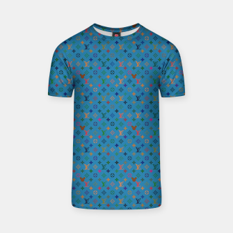 Thumbnail image of Pop Pattern T-shirt, Live Heroes