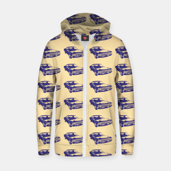 Thumbnail image of Automobile Zip up hoodie, Live Heroes