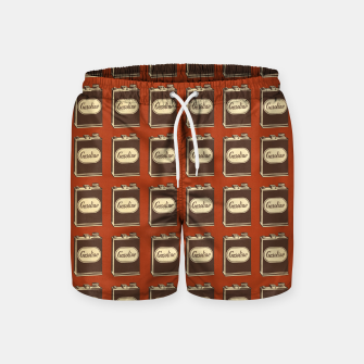 Miniatur Gasoline Can Swim Shorts, Live Heroes