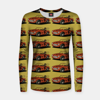 Miniatur Racing Car Women sweater, Live Heroes