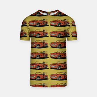 Miniaturka Racing Car T-shirt, Live Heroes