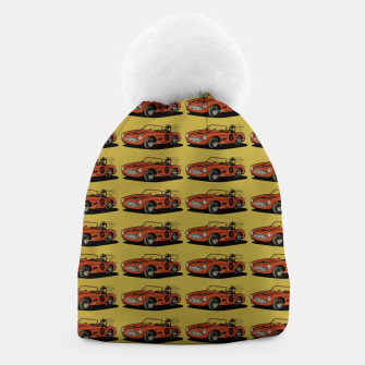 Thumbnail image of Racing Car Beanie, Live Heroes