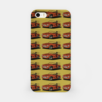 Miniatur Racing Car iPhone Case, Live Heroes