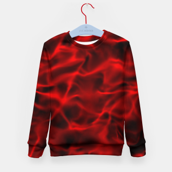 Miniatur Black red Kid's sweater, Live Heroes