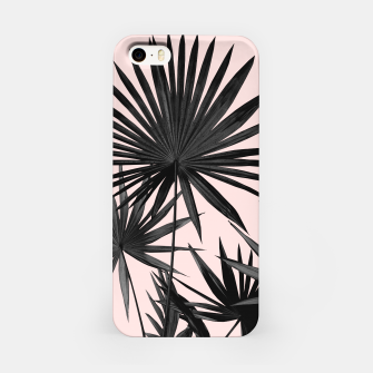 Miniatur Fan Palm Leaves Jungle #2 #tropical #decor #art  iPhone-Hülle, Live Heroes