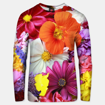 Thumbnail image of Bouquet Unisex sweater, Live Heroes