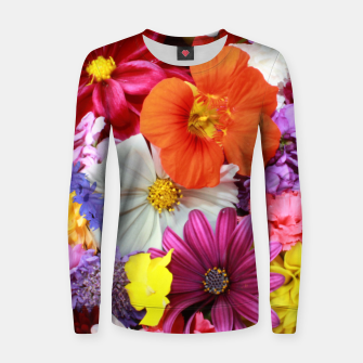 Thumbnail image of Bouquet Women sweater, Live Heroes